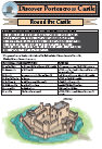 Round the castle children's worksheet image