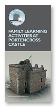 Family Learning Activities at Portencross Castle