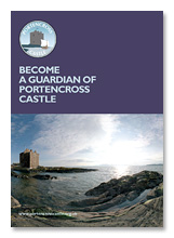 Become a Guardian of Portencross Castle