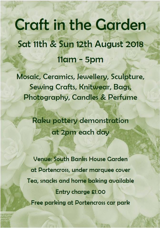Craft in the Garden 2018